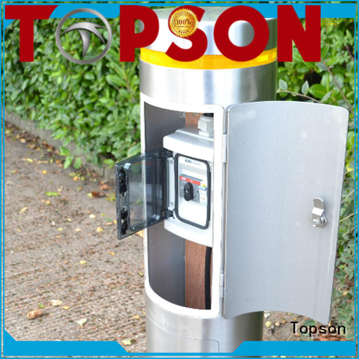 Topson Top metal bollards cost for room