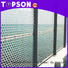 Topson outdoor perforated metal screen Supply for landscape architecture