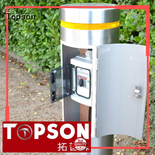Topson durable removable metal bollards pipe for room