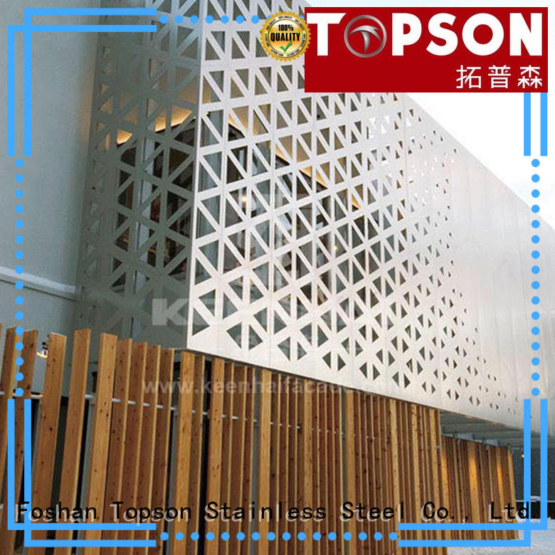 Topson mashrabiya stainless steel screen buy now for protection