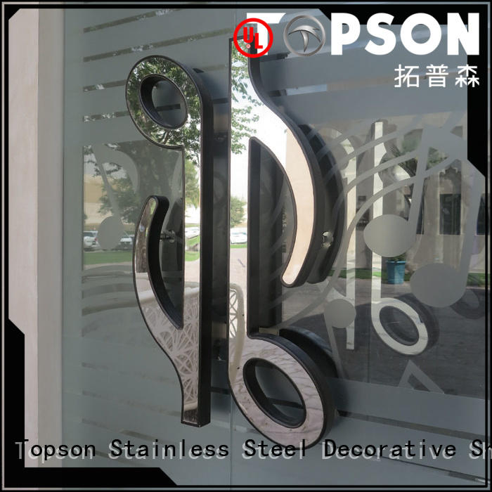 stainless steel interior doors cladding factory for decoration