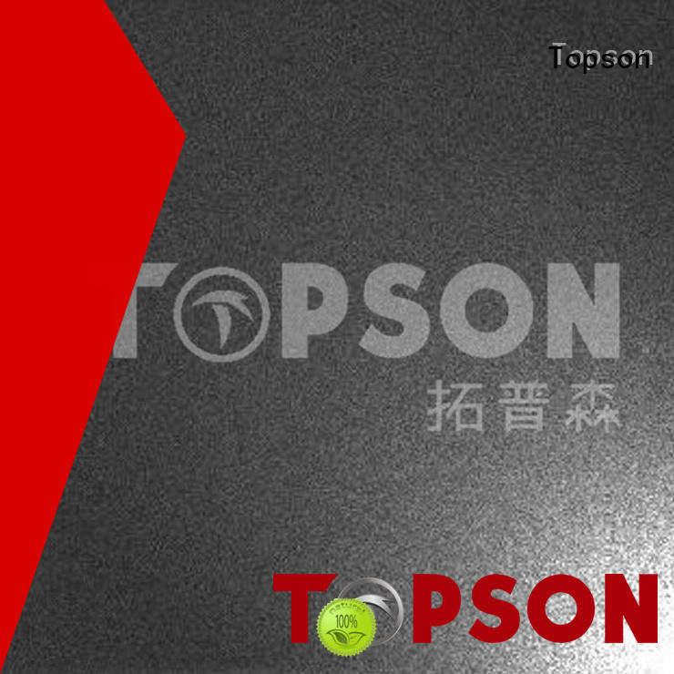 Topson magnificent stainless steel sheets for sale finish for elevator for escalator decoration