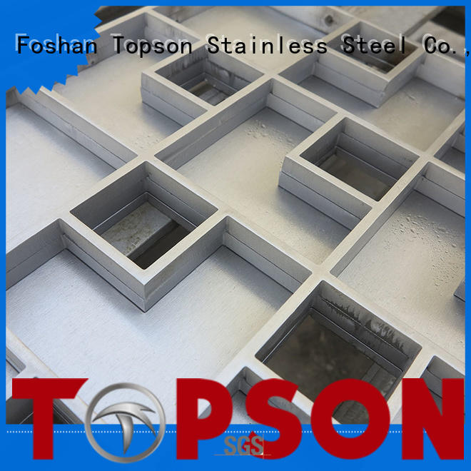 Topson Latest architectural metal fabrication factory for hotel