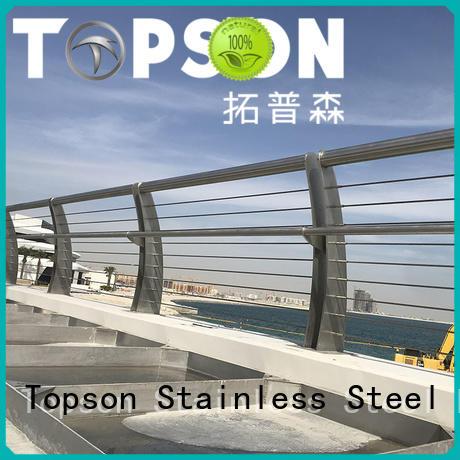 popular stainless steel deck railing steel