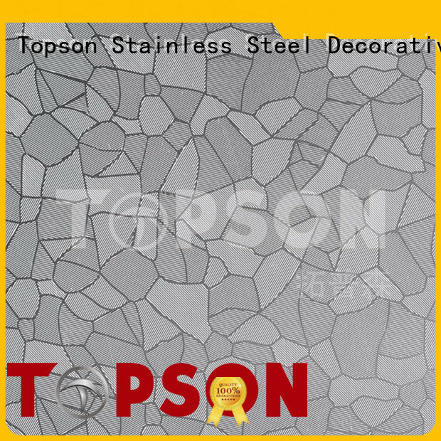 Topson magnificent mirror polished stainless steel sheet factory for floor