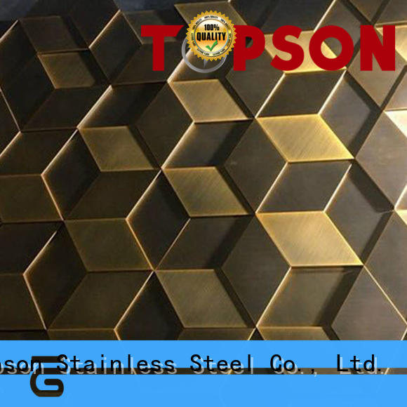 column stainless steel wall cladding steel for wall Topson