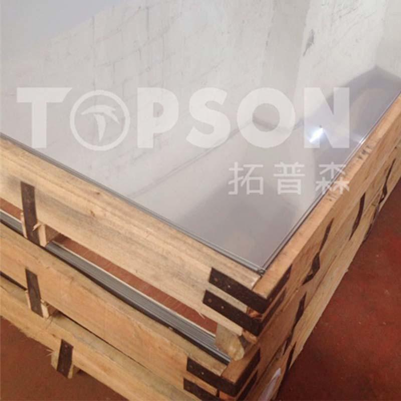 Topson sheetmirror brushed stainless sheet company for floor-1