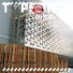 Topson New perforated metal screen Supply for curtail wall