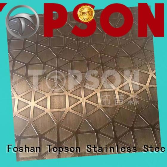 Best stainless sheet supplier vibration company for interior wall decoration