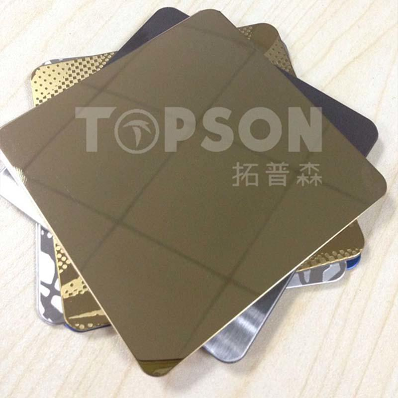 MIRROR Stainless Steel Sheet&mirror finish stainless steel sheet