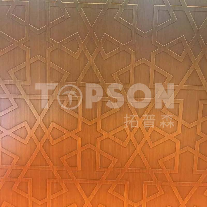 Topson etching decor stainless steel company for kitchen-3