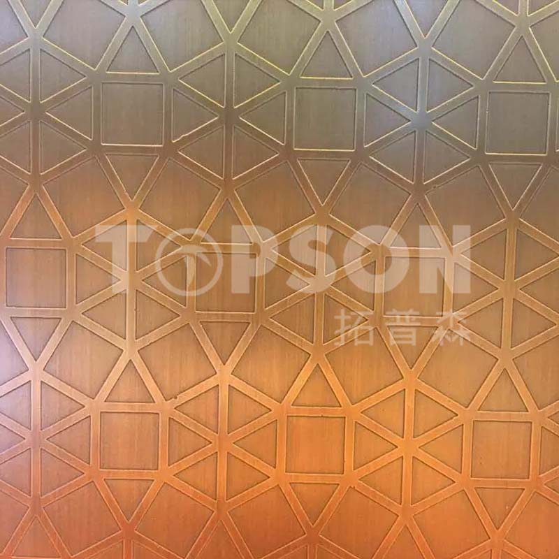 Topson etching decor stainless steel company for kitchen-4