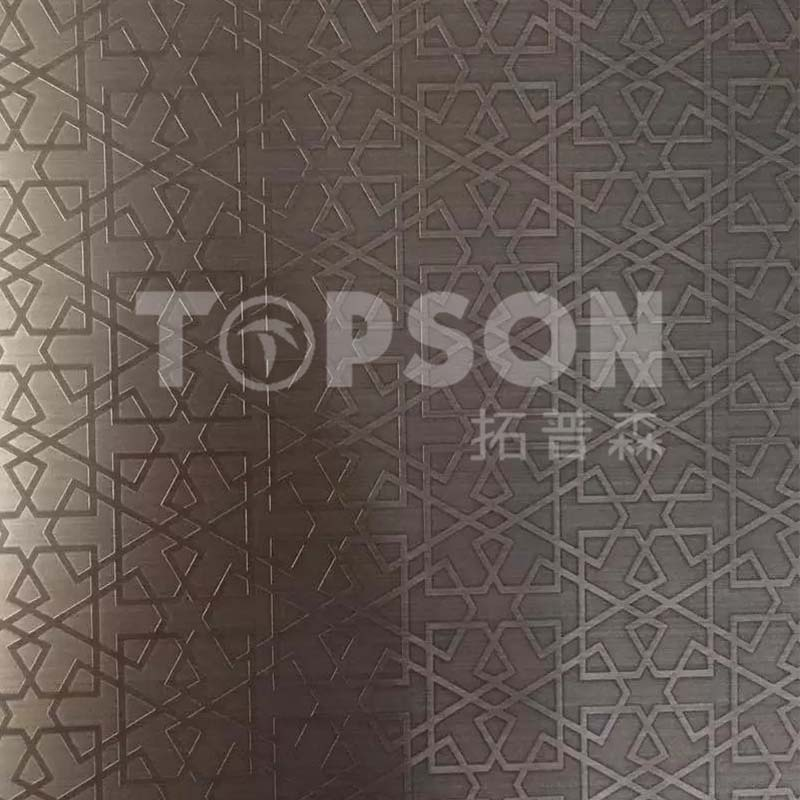 Topson etching decor stainless steel company for kitchen-6