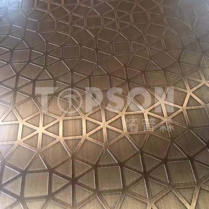good-looking stainless steel etching sheet production for furniture