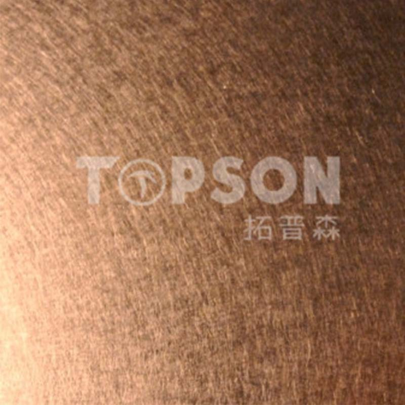 Topson New stainless steel sheets manufacturers company for vanity cabinet decoration-2