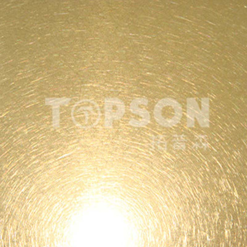 Topson hairline metal work supplies security for vanity cabinet decoration-5