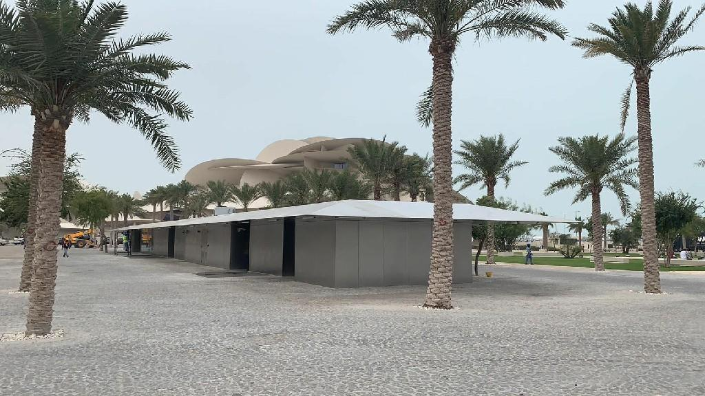 NMOQ-South Carpark, Kiosks And Landscaping Works