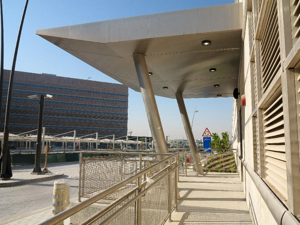 customised metal works of Sidra Medical & Research Centre