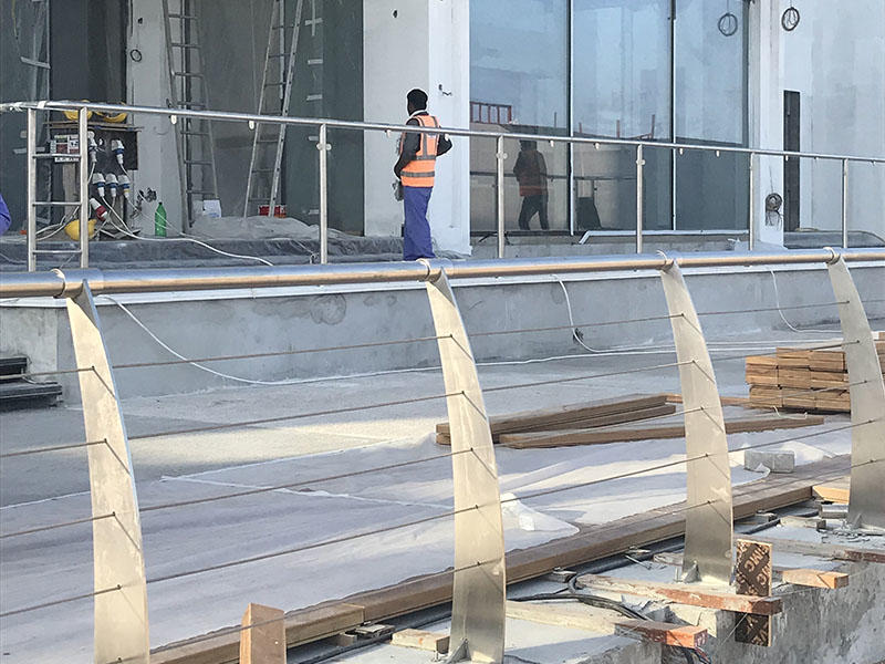 custom metal fabrication of Intercontinental Hotel & Resort Doha