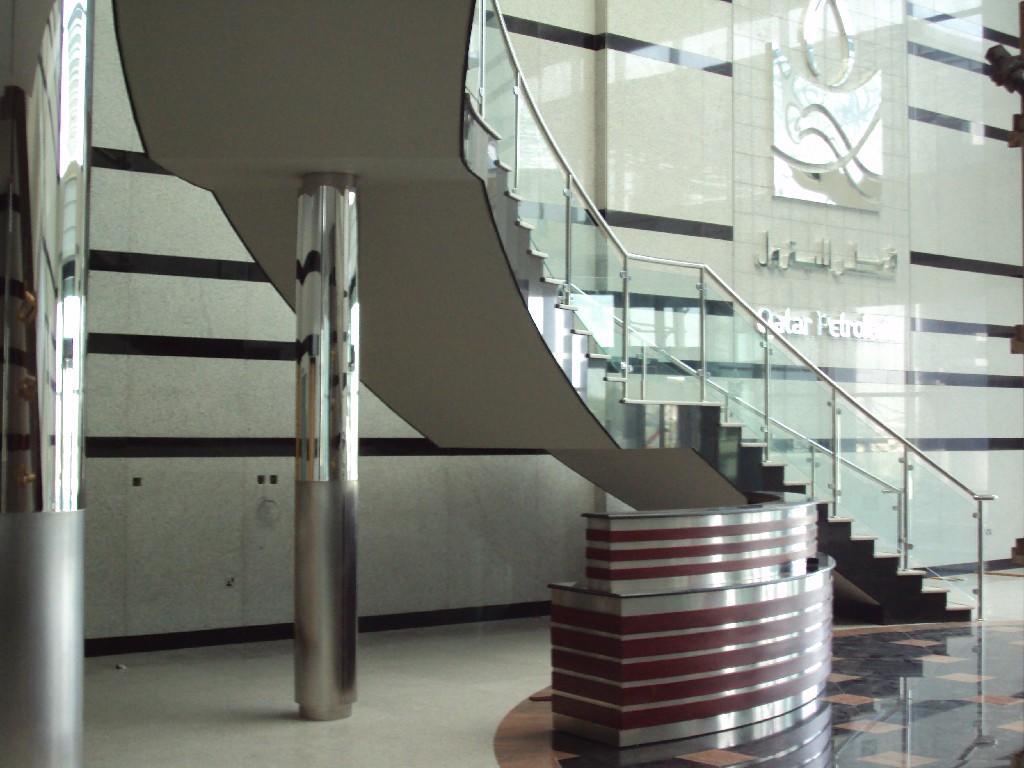 custom metal fabrication of Mesaieed QP Headquarter