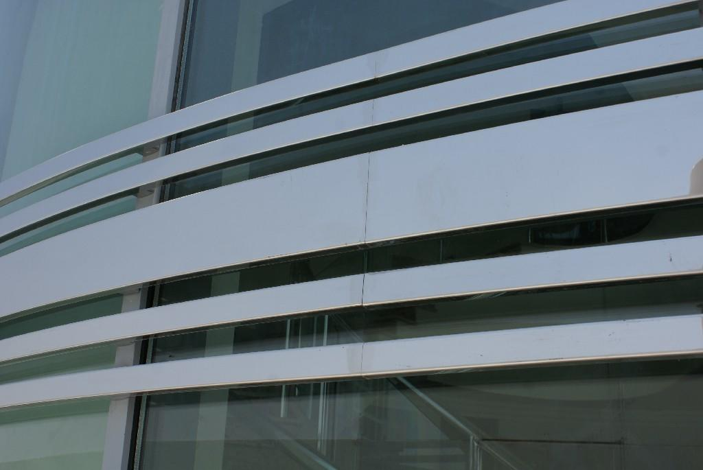 architectural metalwork of Commercial Bank Qatar
