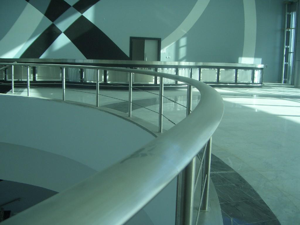 stainless steel works of  Al Saad Sport Club