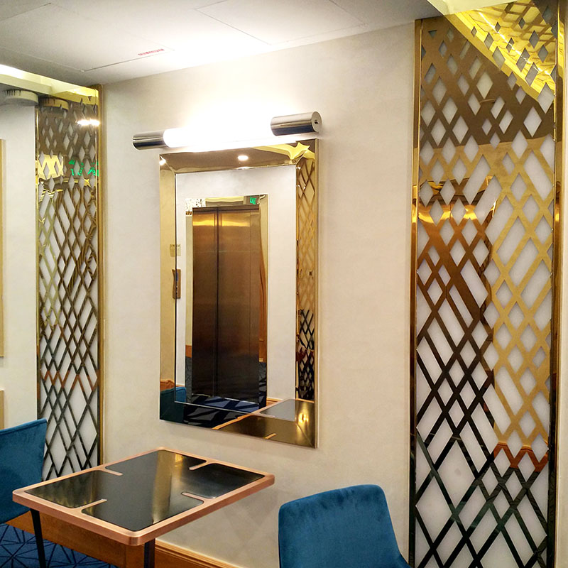 Topson screens metal mashrabiya Supply for protection-stainless steel decorative sheets suppliers-st