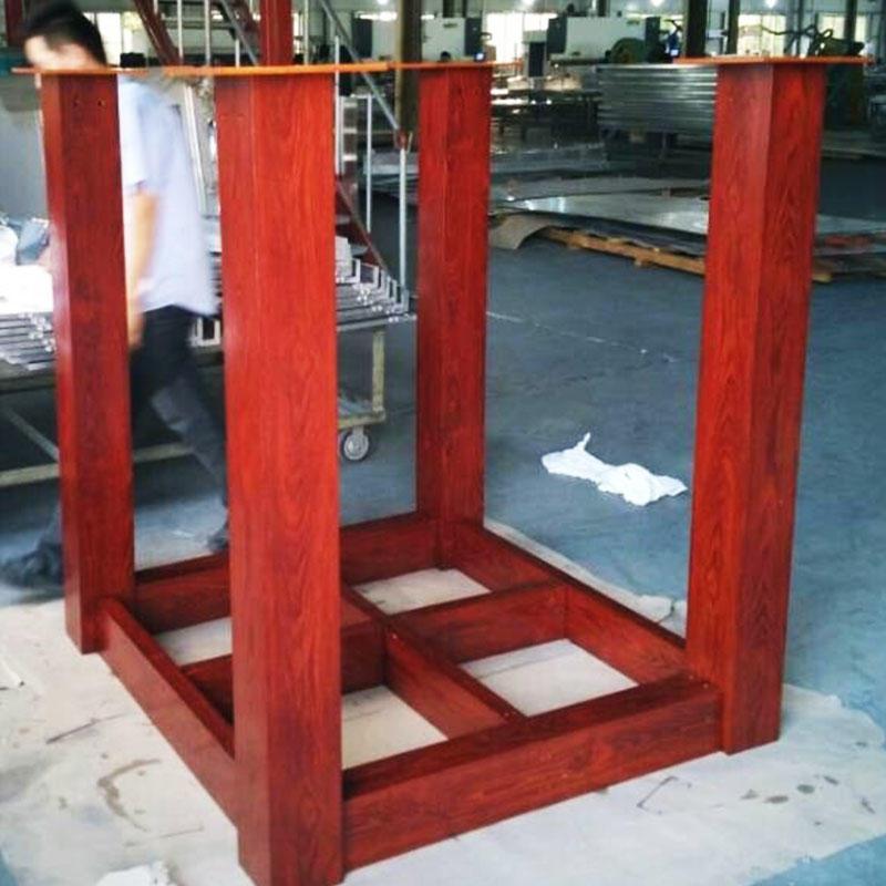 Powder coated Aluminium fixed pergola