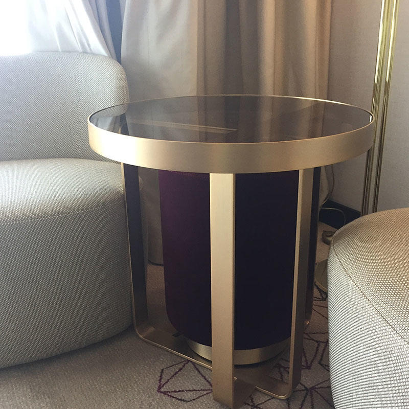 Metal Furniture with glass
