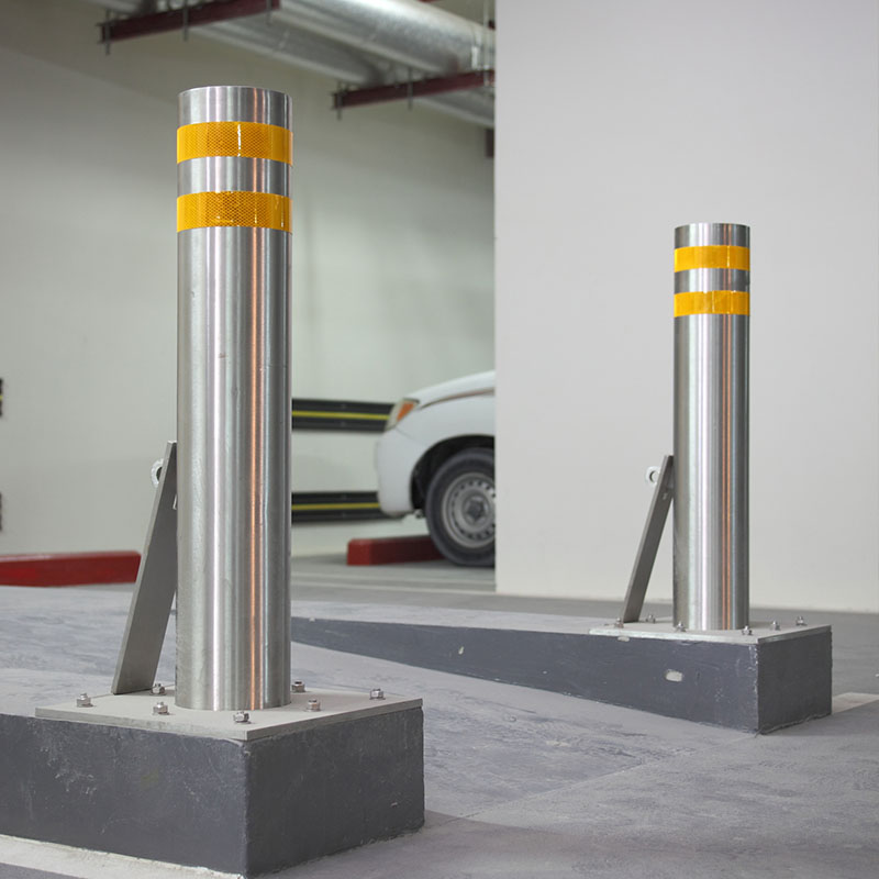 Topson steel stainless steel pipe bollards for room-2