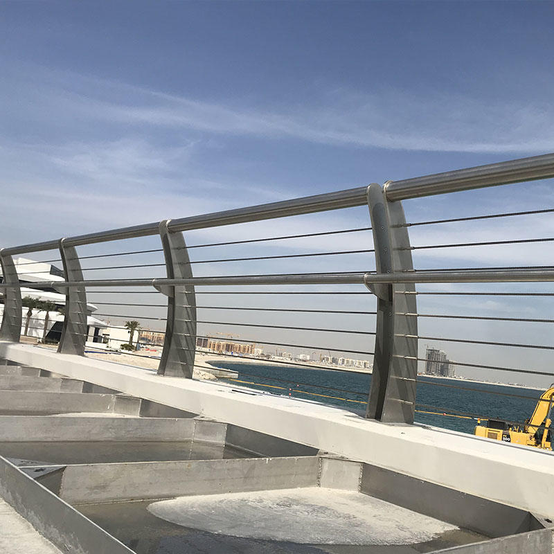 Stainless Steel Bridge Railing&stainless steel cable handrail