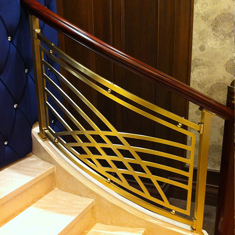 Top steel wire stair railing steel-1