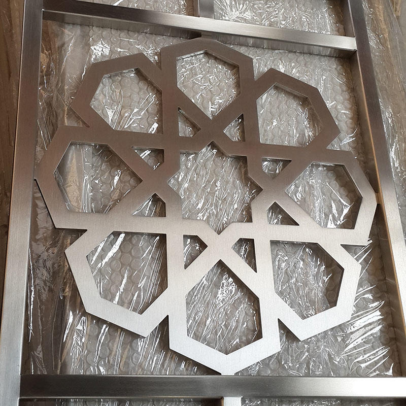 Stainless Steel External Mashrabiya
