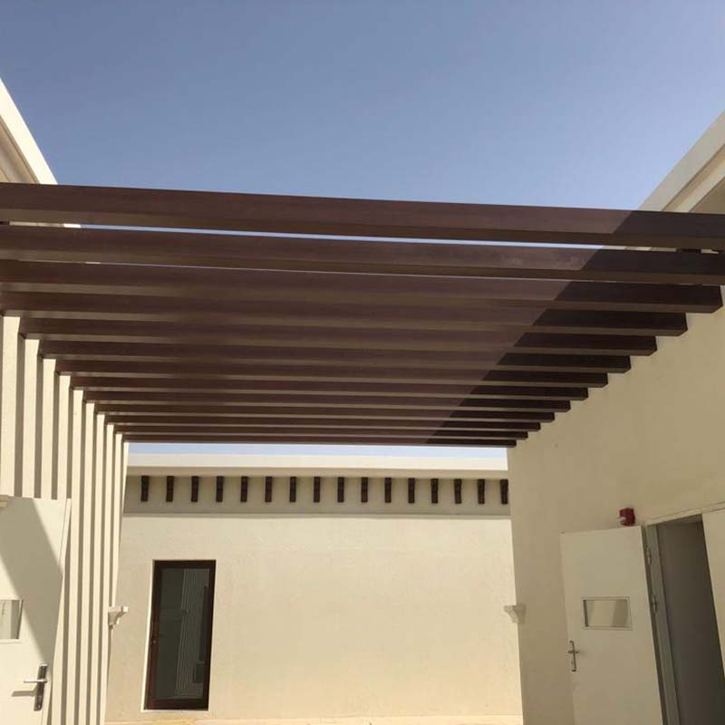 Topson aluminium custom aluminum pergola Suppliers for hotel-Topson-img