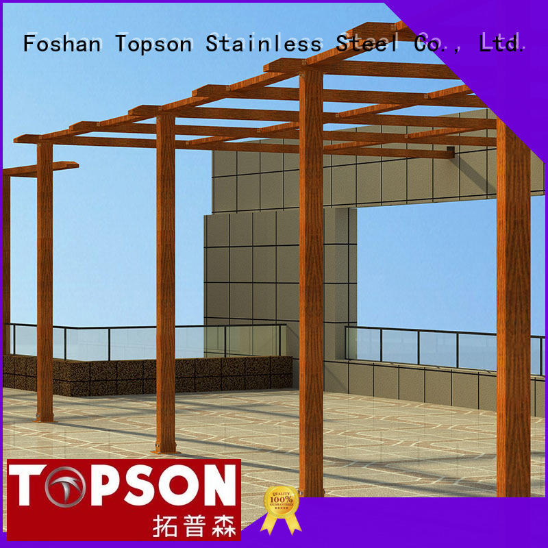 Topson Latest metal fabrication work factory for garden