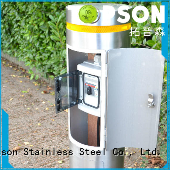 durable stainless steel bollards bollards in-green for building