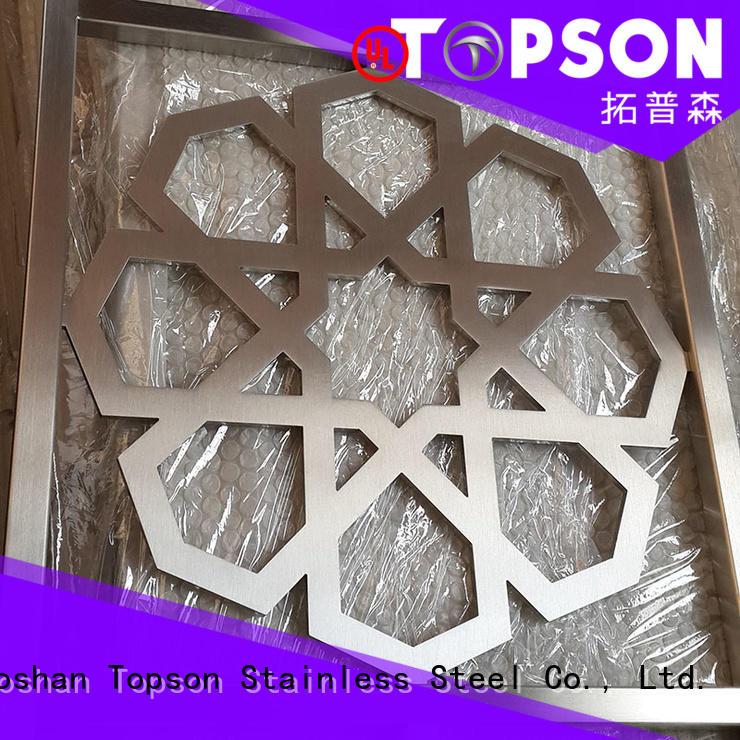 steel outdoor metal garden screens for exterior decoration Topson