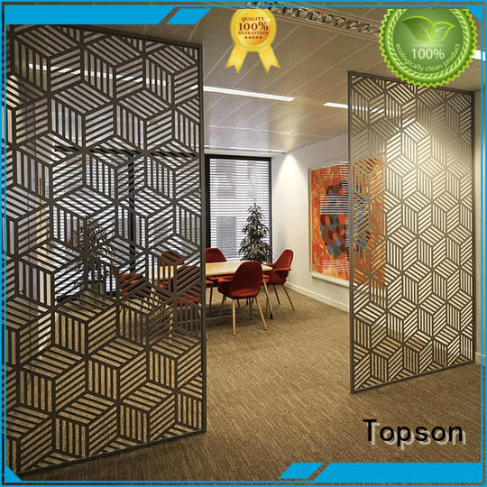 Topson steel mashrabiya manufacturers for exterior decoration
