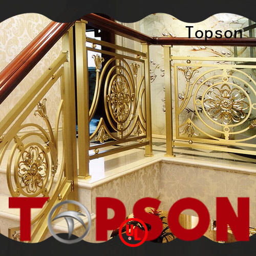 Topson balcony stainless steel stair railing manufacturers manufacturers for tower