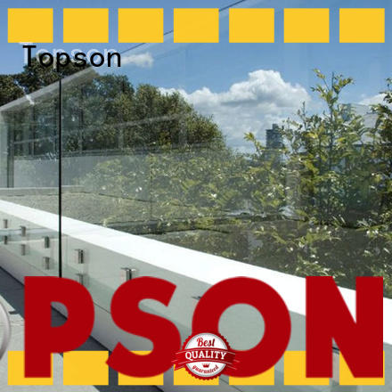 Topson parition glass city furniture Supply for outdoor