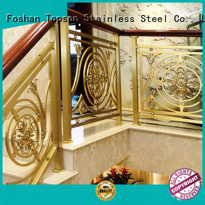 popular stainless steel outdoor handrails in-green for building Topson