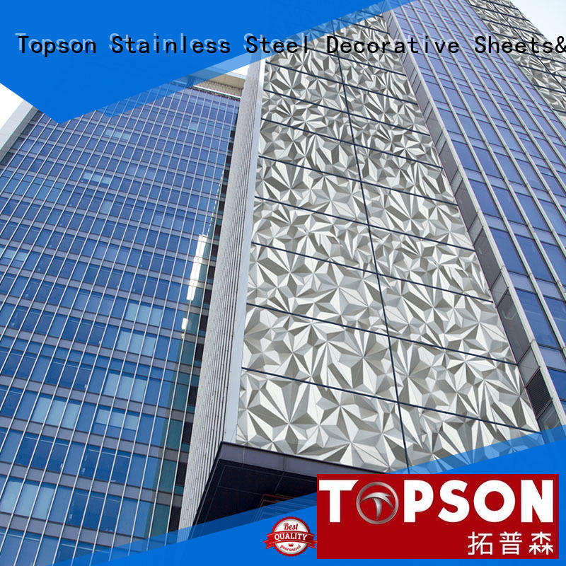 Topson cost-effective metal wall cladding for wholesale for lift