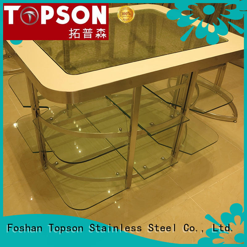 Topson fine-quality stainless steel cabinet resources for outdoor