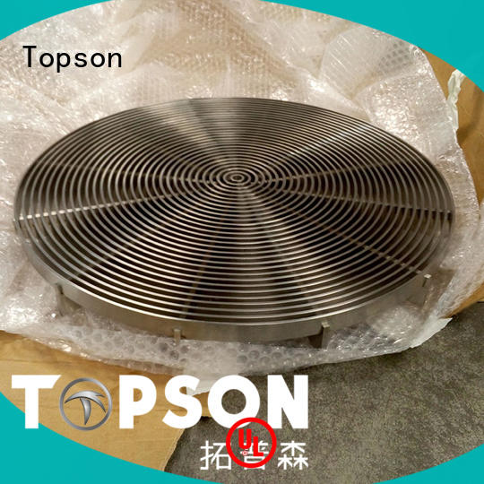 Topson stainless steel floor grating certifications for office