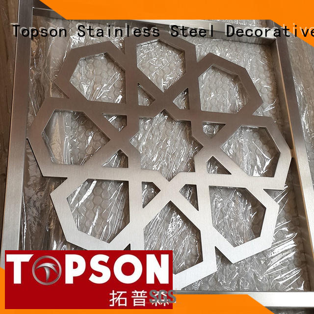 Topson elegant metal works fabrication Suppliers for curtail wall