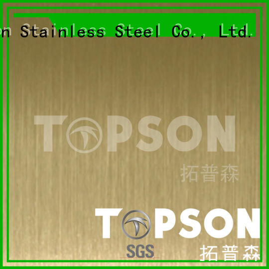 stainless polished stainless steel sheet price anticipation for elevator for escalator decoration Topson