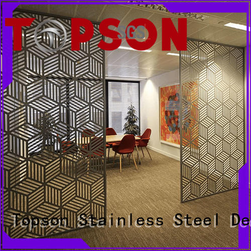 great practicality interior decorative screens mesh for business for exterior decoration