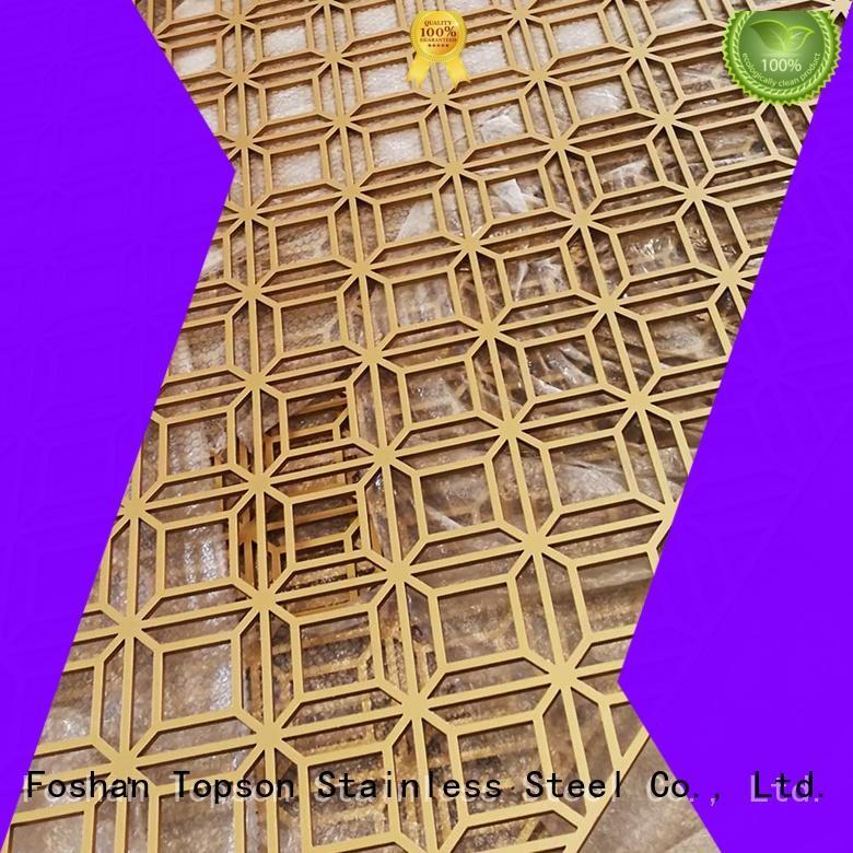 good design metal screen panels decorative export for landscape architecture