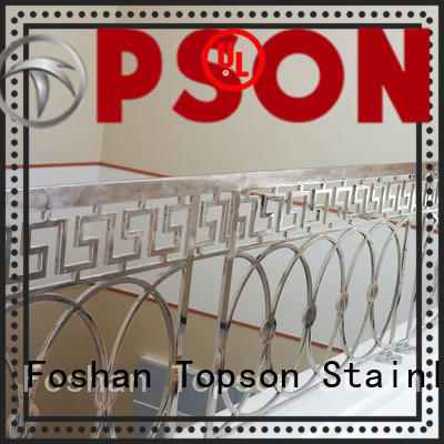 Topson railing stainless handrail systems workshops for building