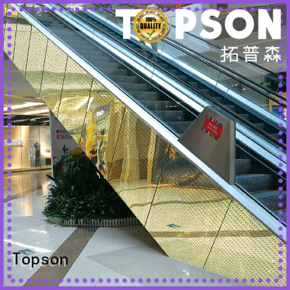 Topson Wholesale interior metal wall cladding factory for elevator